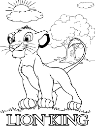 Use these printables for home parties, church or school. Small Lion King Coloring Page Free Printable Coloring Pages For Kids
