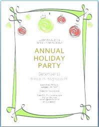 Sample Of Christmas Party Invitation How To Write A Christmas Party Invitation Sepulchered Com