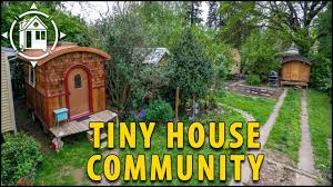 tiny house community. This Tiny House Community Is Located In Portland, Oregon!