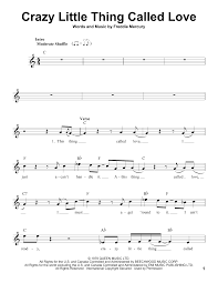 crazy little thing called love sheet music crazy little thing called love sheet music direct