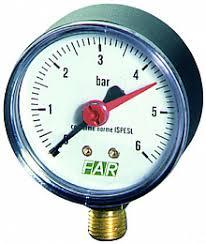Контрольно измерительные приборы купить оптом приборы КИП  Манометр 0 10 бар с алюм циферблатом