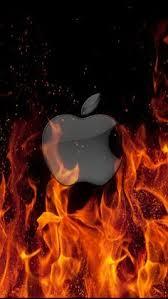 cool apple logos on fire. apple logo on fire . cool logos e