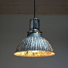 mercury glass pendant lamp 1930s for