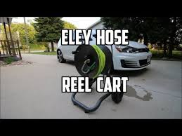 eley rapid reel two wheel garden hose reel cart model 1043