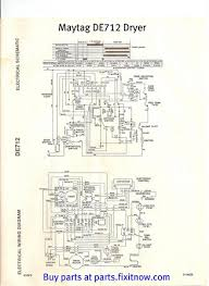tag de712 dryer wiring diagram and schematic fixitnow com tag de712 dryer wiring diagram and schematic