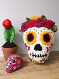 Ballgurumi-<b>Sugar Skull</b> Free Crochet <b>Pattern</b> - Free Crochet <b>Patterns</b> ...