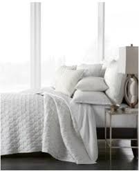 hotel collection inlay quilted king coverlet created for macyu0027s white white coverlet king e98