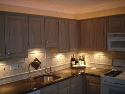 Above Cabinet Lighting Ideas Under Cabinet Light Above Kitchen Sink Kitchen Under