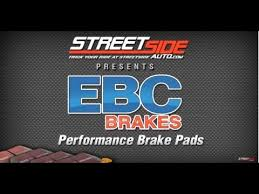 Which Ebc Brake Pads To Use Streetsideauto Com Reviews Ebc Brake Pads By Color