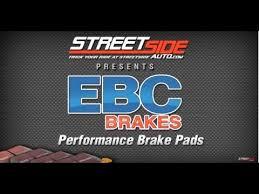 Ebc Brake Pads Chart Which Ebc Brake Pads To Use Streetsideauto Com Reviews Ebc Brake Pads By Color