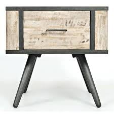 wade rustic grey coffee table gray end retrospective furniture