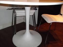 ikea docksta table and 4 ikea chairs