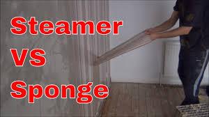 Removing Wallpaper: Steamer Vs Sponge ...