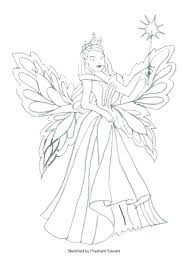 Fairy Coloring Pages Printable Fairy Coloring Pages For Printable