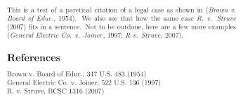 Apa Quote Citation Interesting Citing Court Cases Using The Apacite Package TeXnical Designs