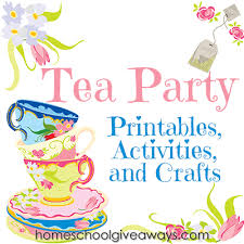 Tea Party Free Printables Pin By Carol Swett On Birthdays Tea Party Activities Tea