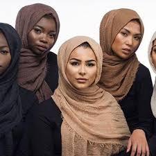 Designer Head Scarf Crinkle Cloud Designer Head Scarf Or Hijab