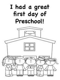 Small Picture Back to School Preschool Worksheets Worksheets School and