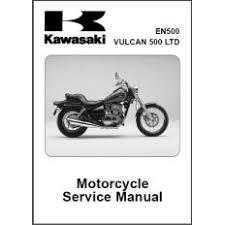 kawasaki en500 vulcan 500 service repair manual 96 08 kawasaki vulcan 500 en500 service manual cd