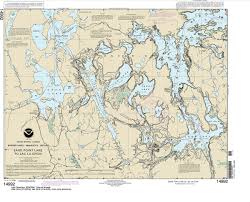 Noaa Chart 14992 Sand Point Lake To Lac La Croix