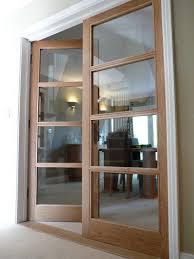 Glass Door Designs For Living Room Doors Made From Oak With Paneling Throughout And Design Decorating