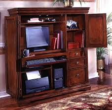 home office desk armoire. Interesting Armoire DMI Rue De Lyon Office Furniture Home Computer Armoire  Throughout Desk N