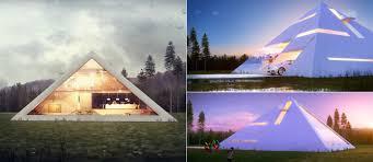 Pyramid Houses
