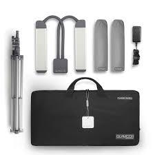 Glamcor Professional Light Glamcor Classic Elite 2 Light Kit For Beauty Professionals