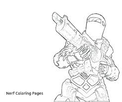 Nerf Coloring Pages Gun Coloring Pages Gun Colouring Pages Fancy Gun