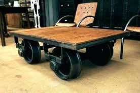 factory cart coffee table rail cart coffee table rail cart coffee table antique railroad cart coffee