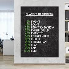 success office wall art inspirational