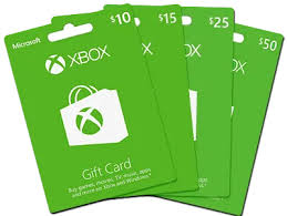 Microsoft Giftcard Xbox Gift Cards