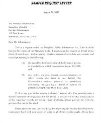 Format Of Official Letter Business Request Letter Format Business Request Letter Format
