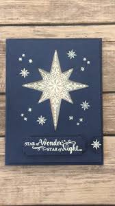 Stampin Up Star Of Light Cards Light Up Star Card Using Stampin Up Star Of Light Stamp