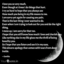 I Love You So Very Much Quotes Writings By Geetika Padam