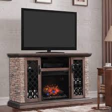 Classic Flame Capitan  60 60 Tv Stand15
