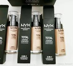 new arrival nyx professional makeup nyx total control maximum coverage 2 in 1 foundation concealer face cosmetics drop shipping nyx professional makeup