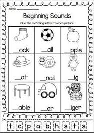 As kids get a little older, they'll benefit from worksheets that help them sound out words with pictures, find and write missing letters, and discover and internalize important spelling patterns. Phonics Printable Worksheet Bundle Beginning Sounds And Early Spelling Phonics Kindergarten Beginning Sounds Worksheets English Worksheets For Kids
