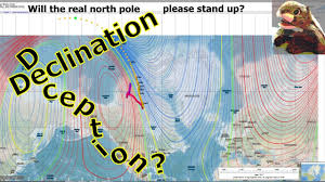 Magnetic Declination Chart