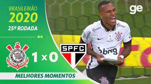 CORINTHIANS 1 X 0 SÃO PAULO   MELHORES MOMENTOS   25ª RODADA BRASILEIRÃO  2020