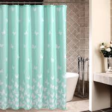 blue shower curtain bed bath and beyond brown and blue shower curtain