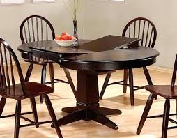 dining table with leaf extension attractive collection in wood tables leaves narrow regard to within round dining table with leaf
