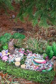diy fairy garden hoosier homemade