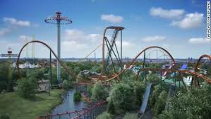 See a record-setting coaster under construction - CNN Video