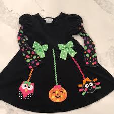 Bonnie Jean Halloween Theme Little Girls Dress