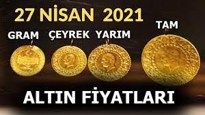 27 NİSAN 2021, ALTIN FİYATLARI, GRAM ALTIN, ÇEYREK ALTIN, YARIM ALTIN, TAM  ALTIN, GÜMÜŞ, CUMHURİYET - YouTube