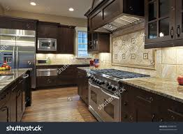 Kitchen Granite Countertop Luxury Kitchen Granite Countertops Stock Photo 34589791 Shutterstock