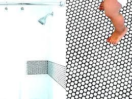 penny tile bathroom floor photos white shower wall multicolored tiles glass pen