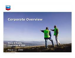 Chevron Organizational Chart 2018 Chevron Corporate Overview