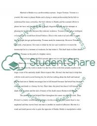 hedda gabler essay example topics and well written essays  hedda gabler essay example